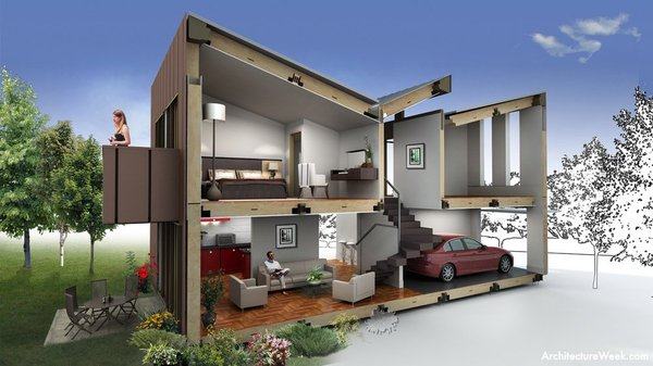 3d max house modeling